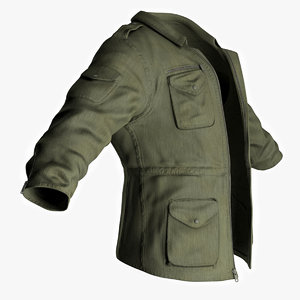 3dsmax qualitative man s jacket
