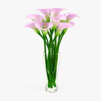 Calla Flower in Vase 5