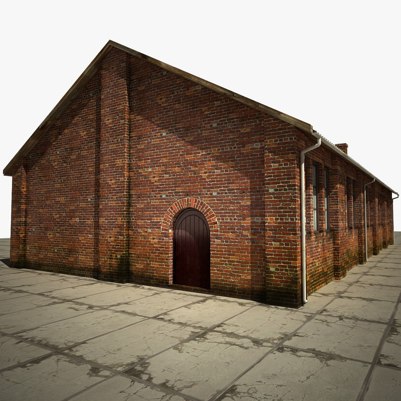 old warehouse 3d max