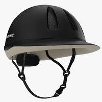 3dsmax equestrian helmet