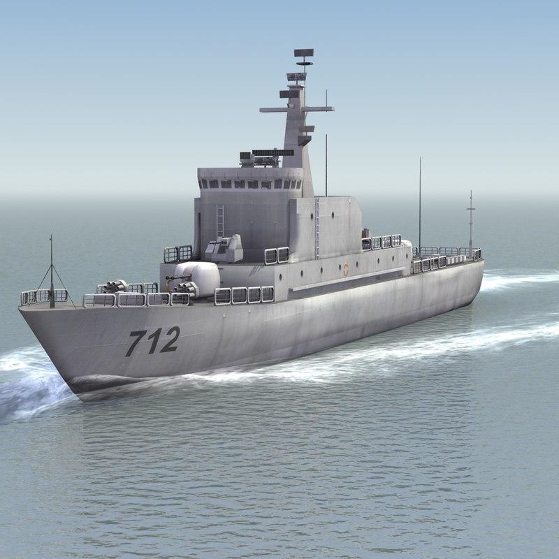 chinese navy haiqing patrol boat max