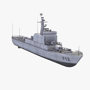 chinese navy haiqing type 3d 3ds