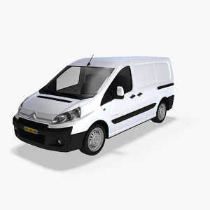 3d citroen jumpy