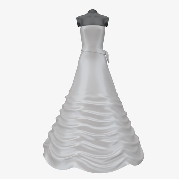 3ds wedding dress 04