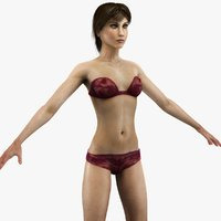 Woman Anatomy Slim