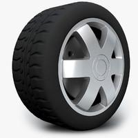 wheel audi 3ds