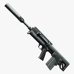 3d ready silencer keltec rfb model