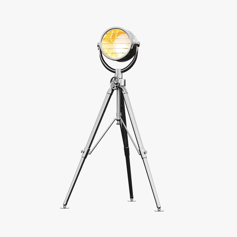 royal master sealight floor lamp 3d model