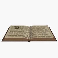 book text virgil 3d max