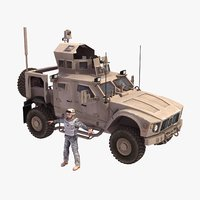 3d matv vehicle model