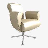 vanity chair couch 3d 3ds