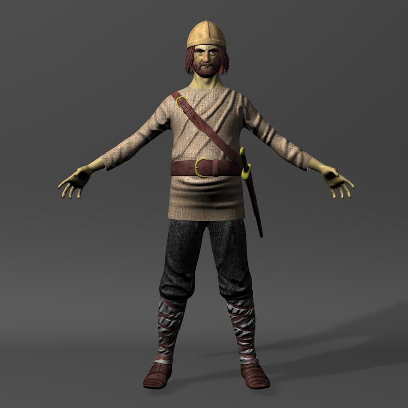 3d model viking 2 1