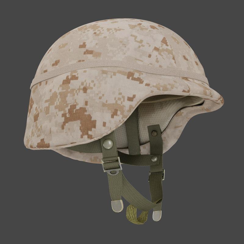 personnel helmet kevlar pasgt 3d ma