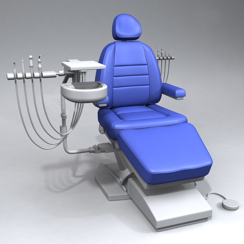 3d model dental chair