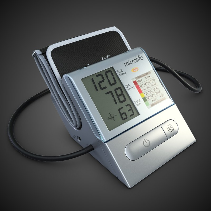 3d digital tonometer model
