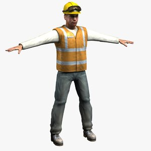3ds workman man