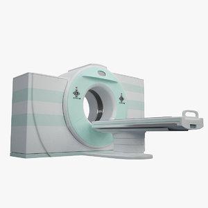 3d model mri scaner