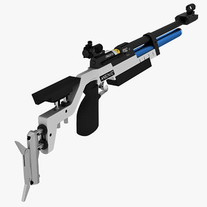 3ds max anschutz 8002 s2 rifle