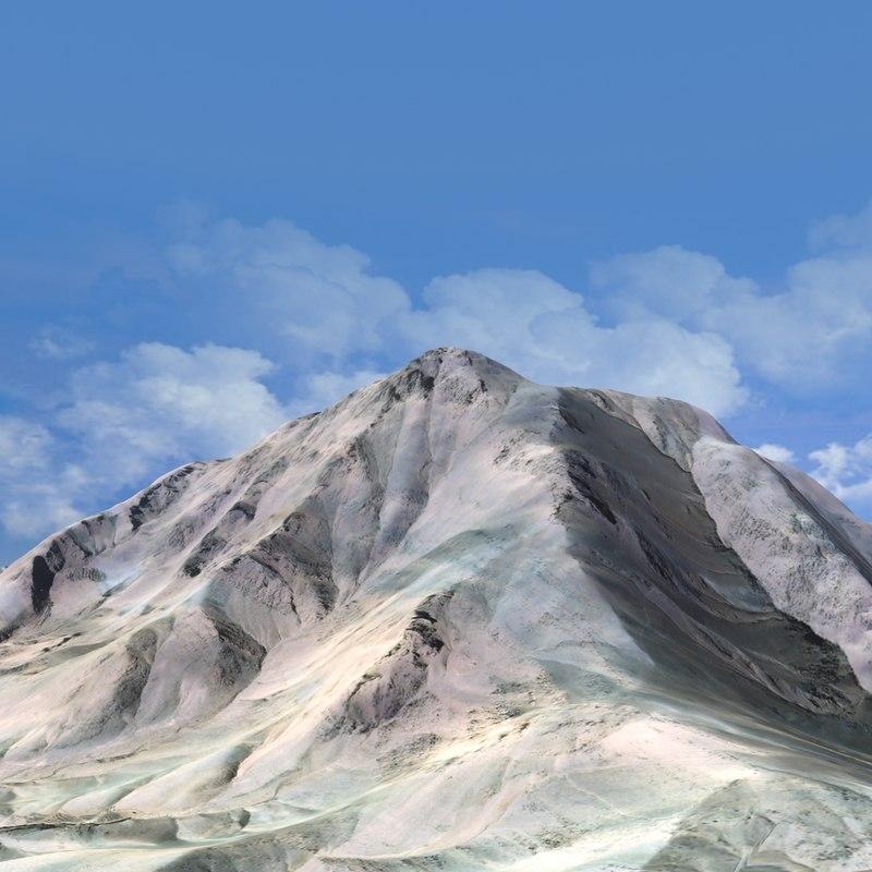 max desert mountain landscape