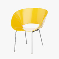 3d plastic chair