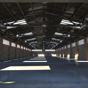 3d old warehouse model