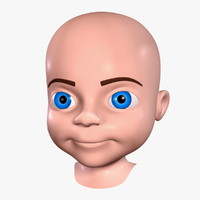 Cartoon Boy - Head No:2