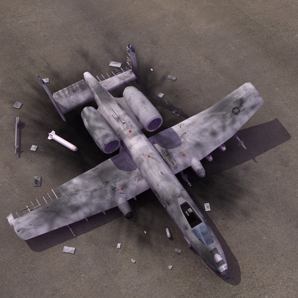 3d a10 thunderbolt crash