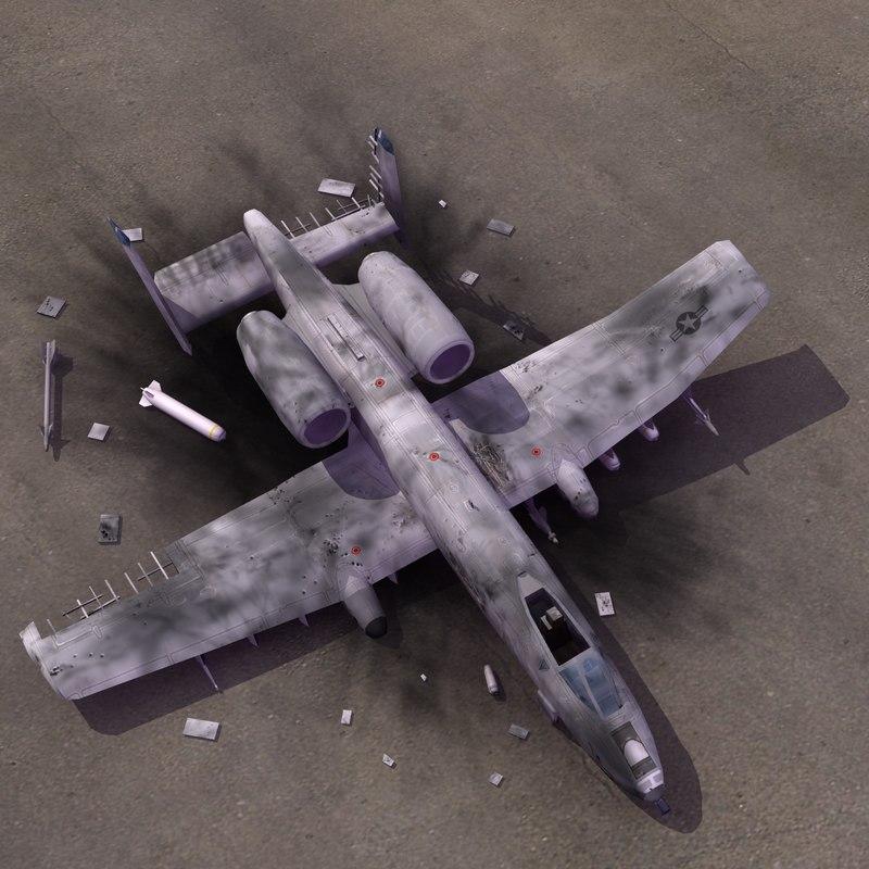 3d a10 thunderbolt crash