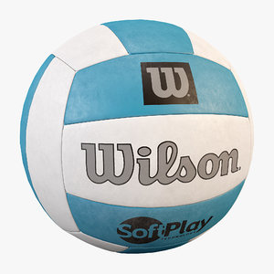 ball volleyball wilson 3d max