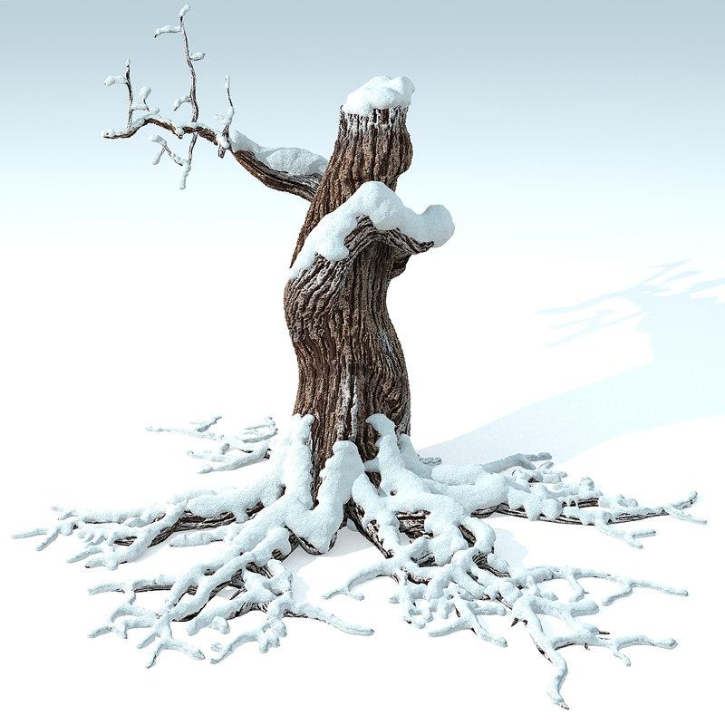 max dry tree snow