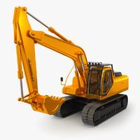excavator toy 3d max