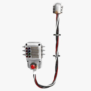 3d fuse box power distributor