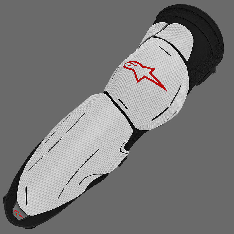 3d model knee protector