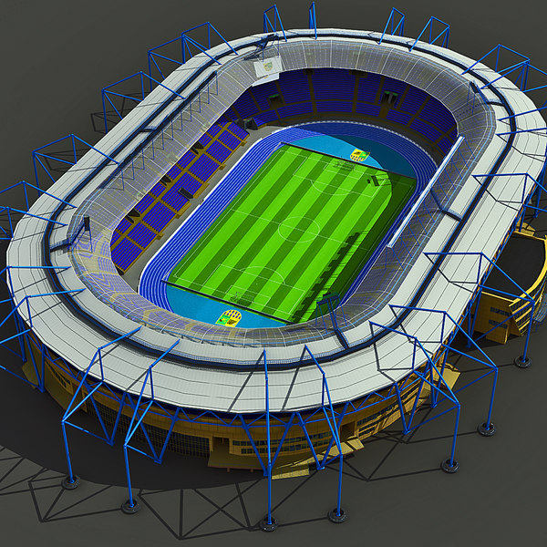 metalist stadium ukraine 3d max