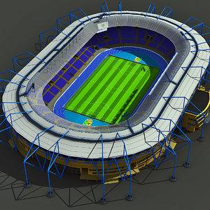 metalist stadium ukraine 3d max
