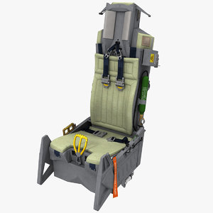 3d photorealistic aces ii ejection seat