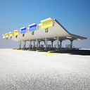 Toll booth 3D models
