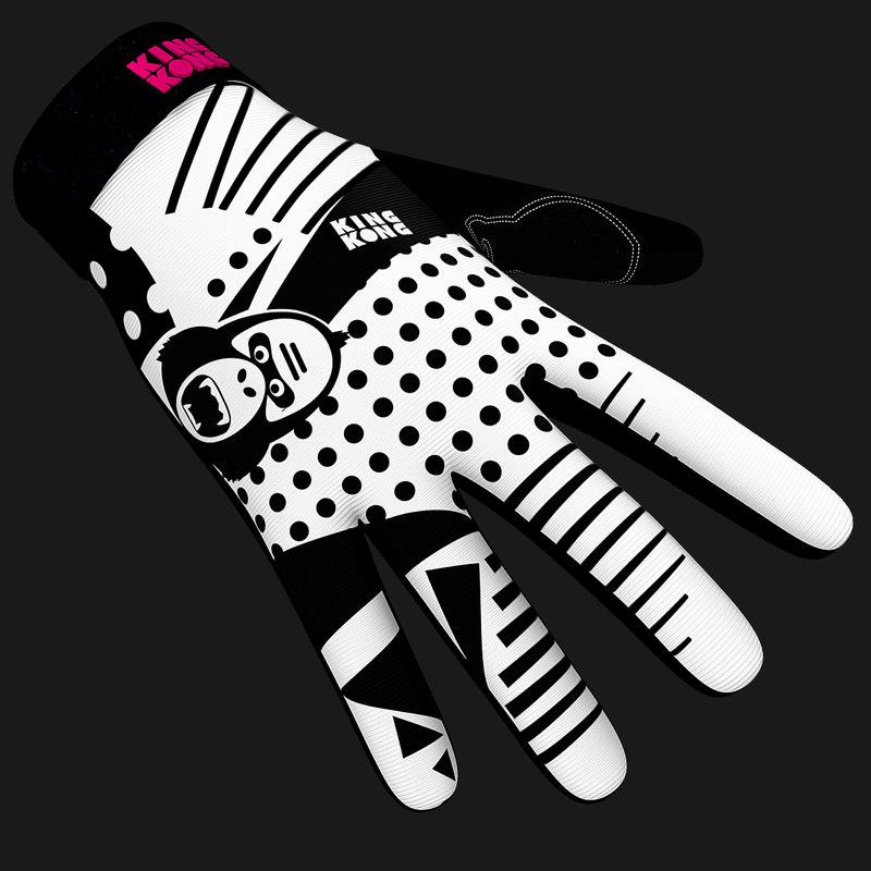 king kong gorilla gloves 3d 3ds