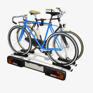 bicycle carrier 3d model