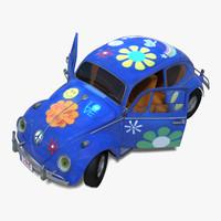 toy car rigged 3d obj