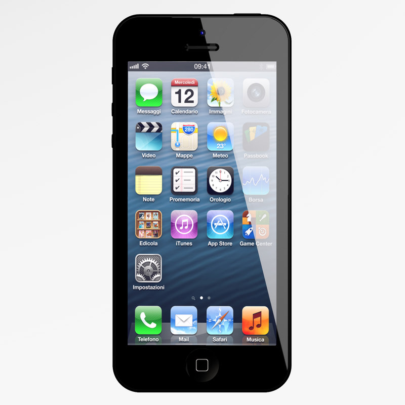 iphone 5 phone 3ds