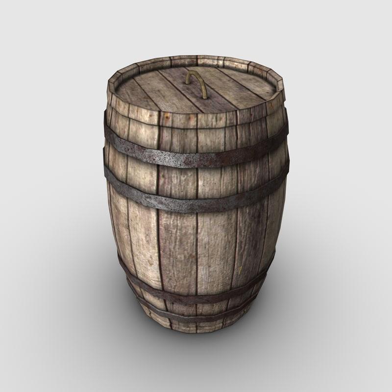 wood barrel max