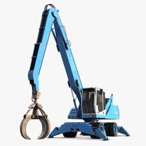 fuchs industrial excavators mhl 3d 3ds