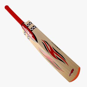 gray nicolls cricket bat 3d model