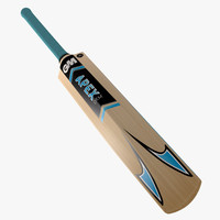 gunn cricket bat gm 3d max