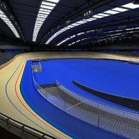3d velodrome 2012 model