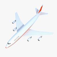 3dsmax boeing 747