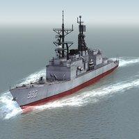 3d kidd destroyer ddg-993 ddg