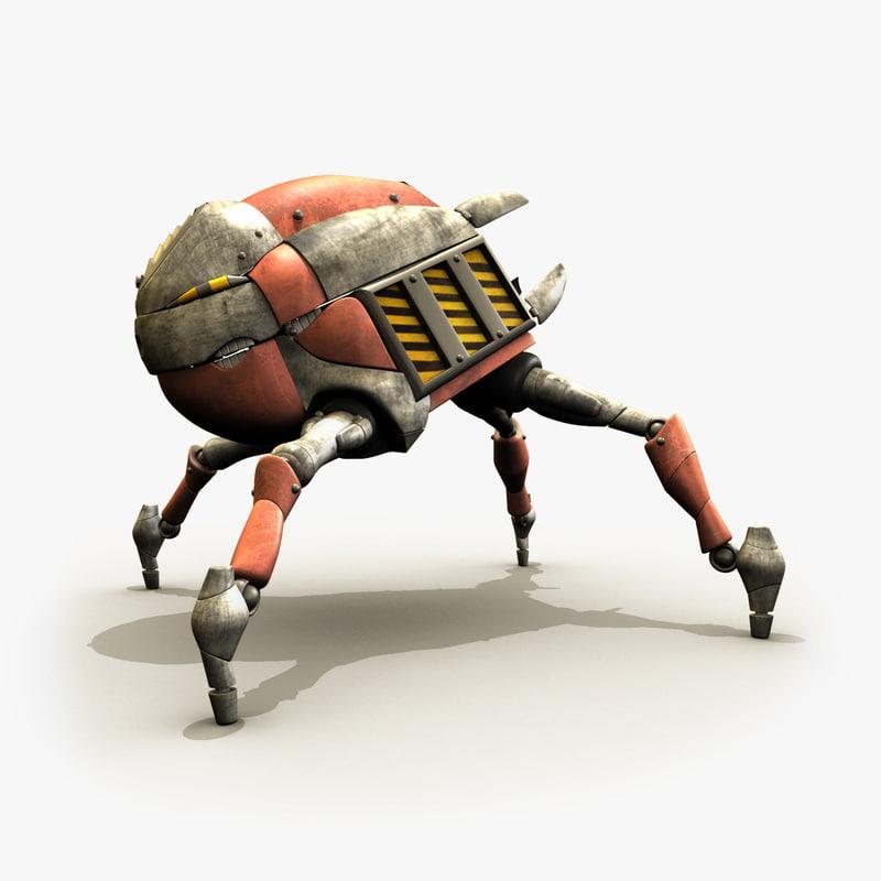 3ds max rig robocrab