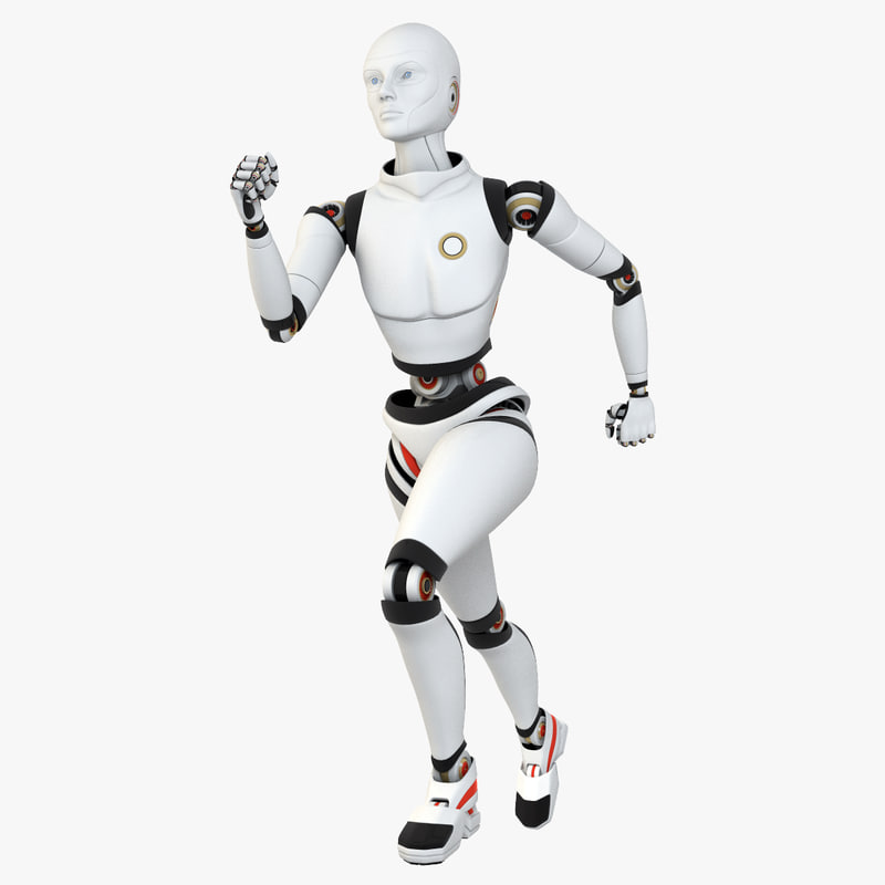 female android robot lwo